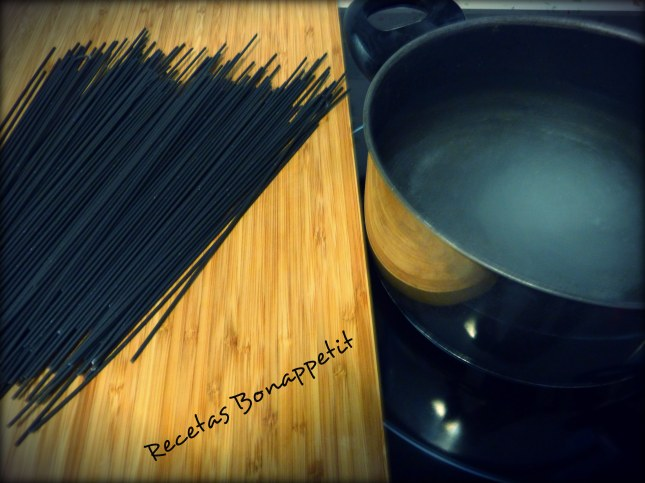 Cocción espaguettis